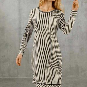 Langarm Night Dress